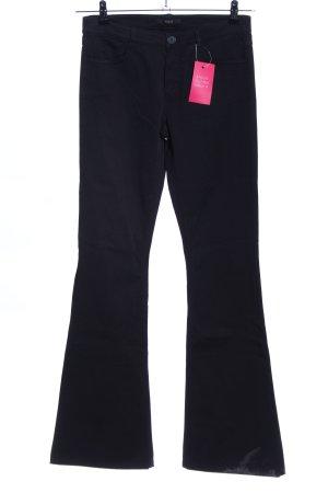 Set Straight-Leg Jeans schwarz Business-Look