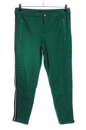 Set Stretchhose grün Casual-Look