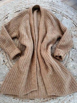 SET Strickjacke Alpak Wolle Grobstrick 38
