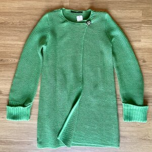 Set Knitted Coat green cotton