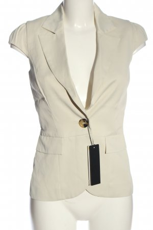 Set Waistcoat natural white business style