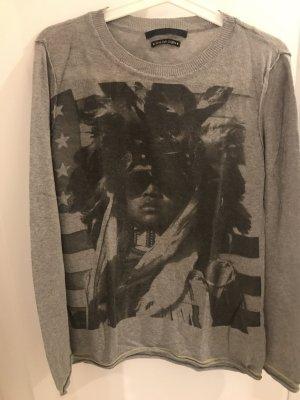 SET stylischer Print-Pullover