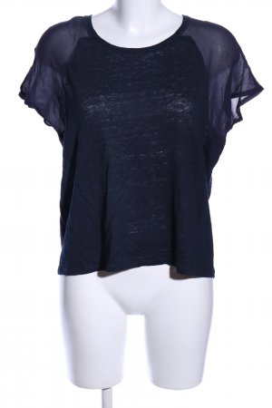 Set T-Shirt blau Casual-Look