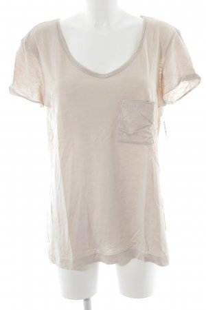 Set T-Shirt altrosa meliert Casual-Look