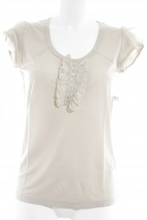 Set T-Shirt beige Romantik-Look