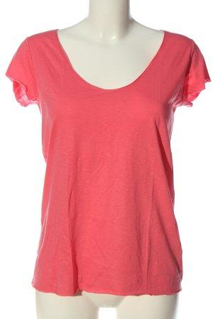 Set T-Shirt pink meliert Casual-Look