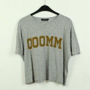 Set T-shirt srebrny-ochra