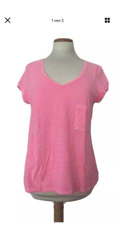 Set, T-Shirt, kurzarm, pink, rosa, neu, Gr. 40
