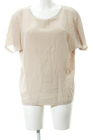 Set Blusa transparente beige elegante
