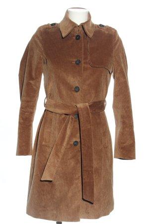 Set Trenchcoat braun Casual-Look