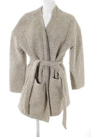 SET Urban Deluxe Oversized Mantel beige Street-Fashion-Look