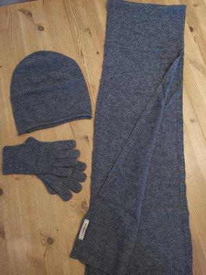 Codello Écharpe en tricot gris