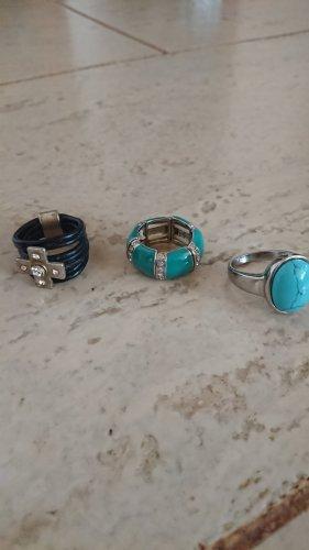 Set von Modischen Ringen zu verkaufen