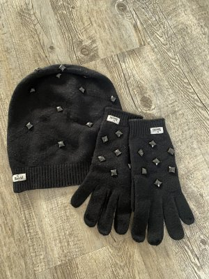 Roeckl Knitted Gloves black cashmere