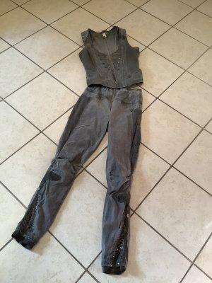 Tredy Leggings grigio scuro