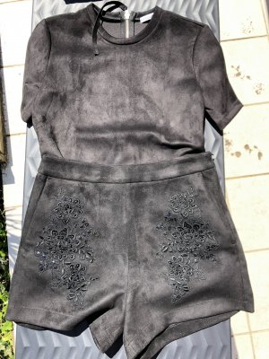 Zara Basic Twin set in jersey nero