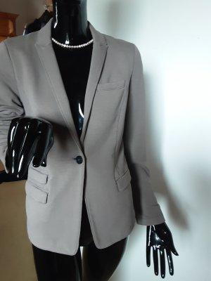 Set Blazer de tela de sudadera gris