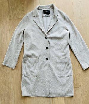 Set Fashion Manteau court beige clair-crème