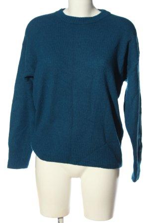 Set Wollpullover blau Casual-Look