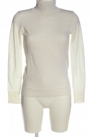 Set Jersey de lana blanco look casual