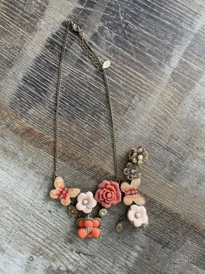Accessoires Collar color rosa dorado-rosa empolvado