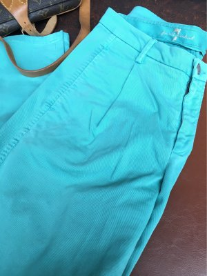 7 For All Mankind Chinos turquoise-cadet blue
