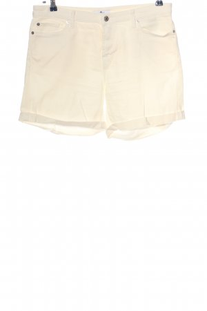 Seven for all Man kind Hot Pants creme Casual-Look