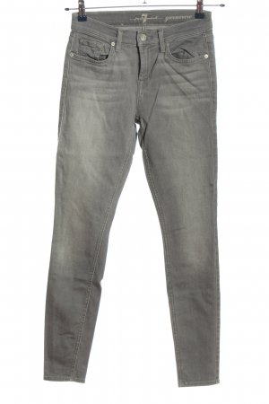Seven for all Man kind Slim Jeans hellgrau Casual-Look