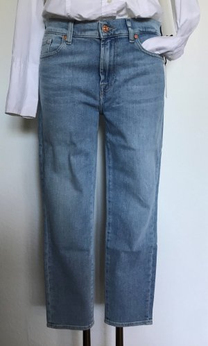 SEVEN FOR ALL MANKIND 7/8 Slim Fit Jeans Roxanne Hellblau W31