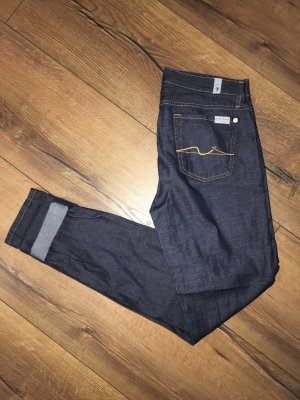Seven for all mankind 7 Jeans Gr. 29 dunkle Waschung Seven
