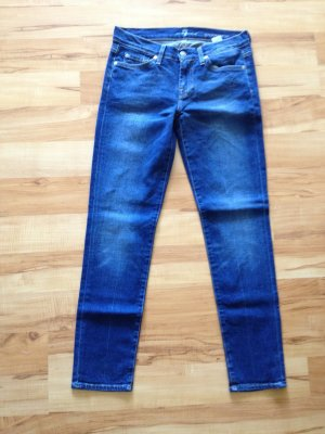 7 For All Mankind Tube Jeans blue