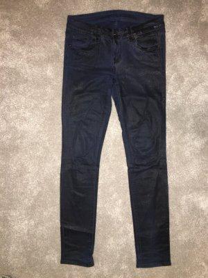 Seven For all Mankind Jeans in blau beschichtet