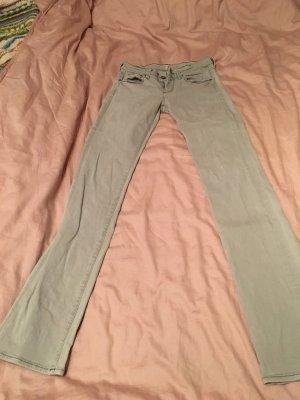 7 For All Mankind Jeans met rechte pijpen lichtgrijs-grijs
