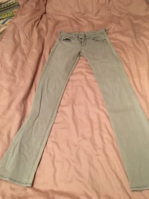 7 For All Mankind Jeans coupe-droite gris clair-gris