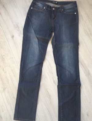 7 For All Mankind Drainpipe Trousers blue