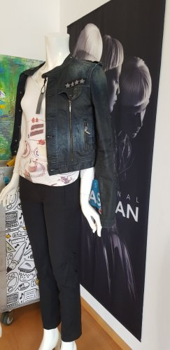seven jeans stoffhose schwarz 27 wie neu gianfranco ferre shirt patrizia pepe jeans jacke optional mit etikette neu
