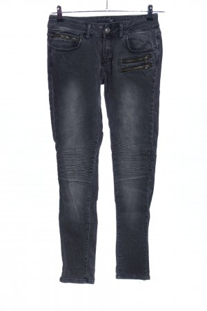 Seven Sisters Biker Jeans black casual look