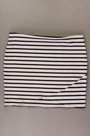 SEVEN SISTERS LONDON Strickrock Größe XL gestreift weiß aus Polyester