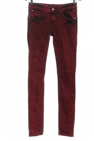 Seven Sisters Jeans skinny rosso stile casual