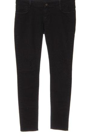 Seven Sisters Jeans a gamba dritta nero stile casual