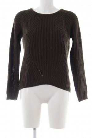 Seven Sisters Strickpullover khaki Casual-Look