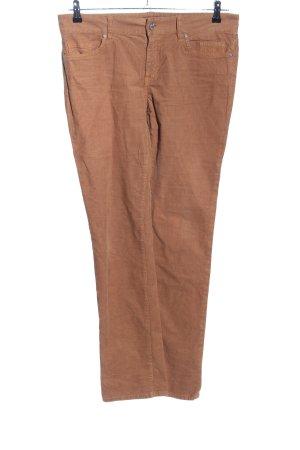 Seven7 Pantalón de pana marrón look casual