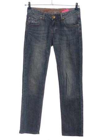 Seven7 Five-Pocket-Hose blau Casual-Look