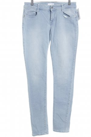 Seven7 Hüftjeans blassblau-himmelblau Jeans-Optik