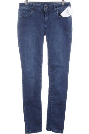 Seven7 Hüftjeans stahlblau Jeans-Optik