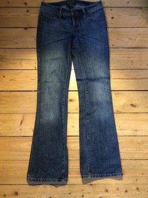 Seven7 Boot Cut Jeans dark blue