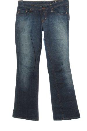 Seven7 Jeans flare bleu style décontracté