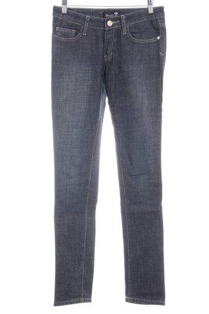 Seven7 Skinny Jeans dunkelblau Casual-Look