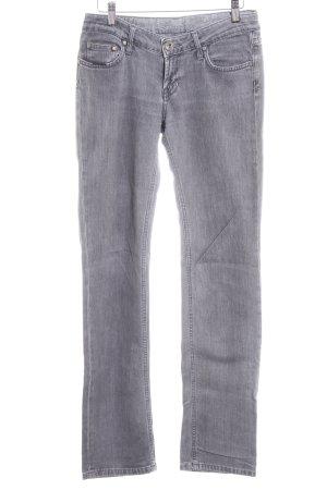 Seven7 Slim Jeans hellgrau-bronzefarben Casual-Look