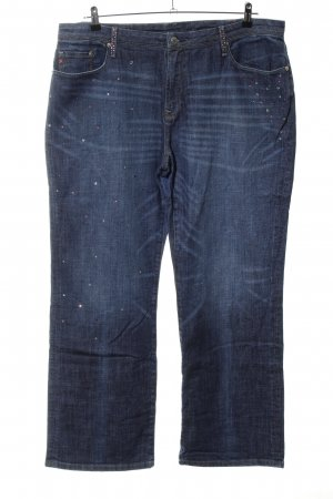 Seven7 Straight-Leg Jeans blau Casual-Look